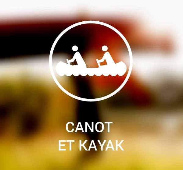 Pictogramme canot et kayak