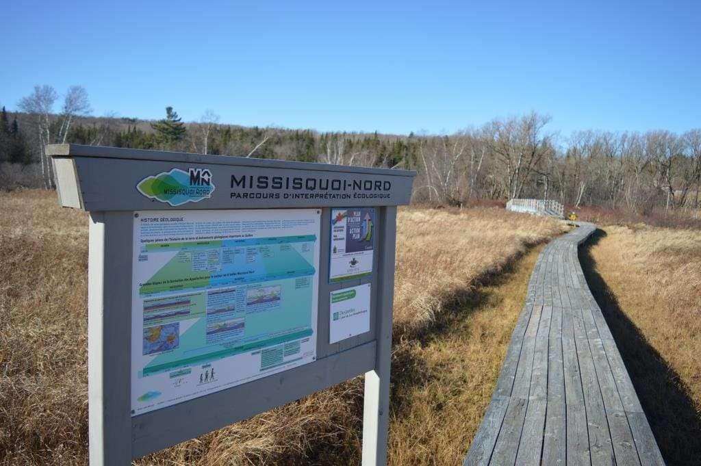 Parcours d'interprétation écologique Missisquoi-Nord