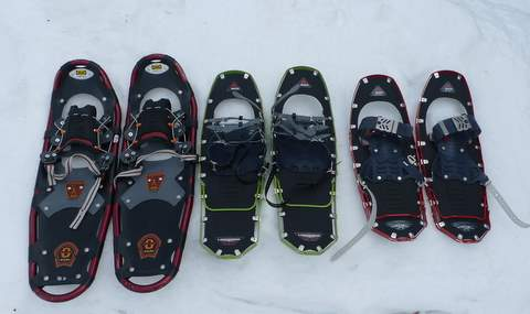 Crédit: http://sectionhiker.com/how-to-size-snowshoes/